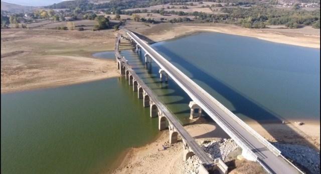 Embalse Del Ebro trece De Octubre De 2017