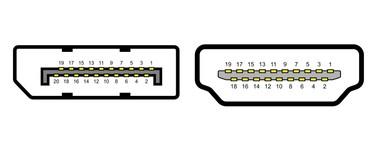 DisplayPort vs HDMI: cuáles son las diferencias