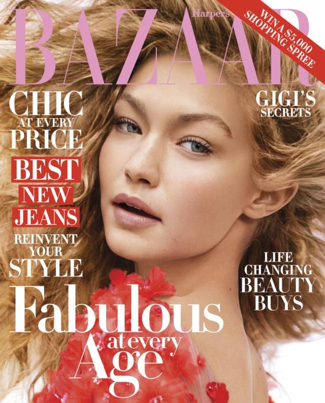 Harper's Bazaar USA: Gigi Hadid