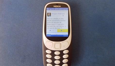 Facebook 3 Nokia 3310