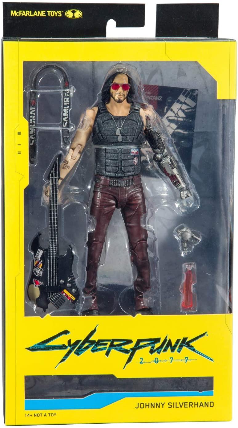 "Mcfarlane Cyberpunk 2077 Johnny Silverhand 7"""