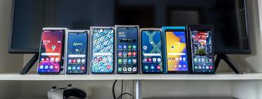 En busca de los mejores móviles Samsung: guía de compra en función de presupuesto, gustos y calidad precio