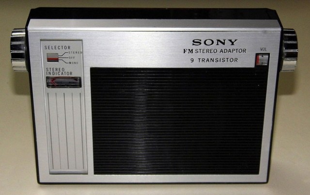 Vintage Sony Model Sta 110 Fm Multiplex Stereo Adapter nueve Transistor Made In Japan 8414448723