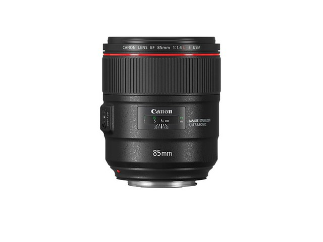 Ef 85 Mm F1 4l Is Usm Side Without Cap