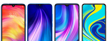 From Redmi Note 7 Pro to Redmi Note 9 Pro: all that has changed each year on Xiaomi's cheap phones