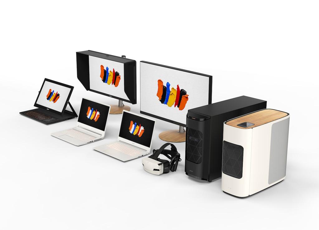 Pantallas 4K validadas por Pantone y GPU Nvidia Quadro: así es ConceptD de Acer, la nueva marca para diseñadores profesionales con precios hasta los 17.999€