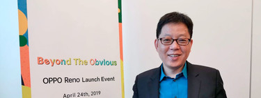 """""""Invertimos mucho en novedad y eso se refleja en el precio"""". Entrevista con Alen Wu, Vicepresidente general de Oppo"""