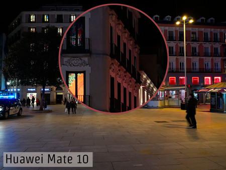 Huawei Mate 10 Detalle Manual Noche
