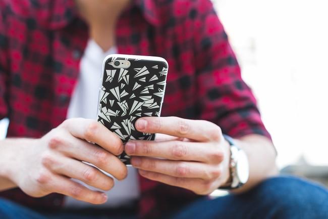 Enviando Mensajes Movil Iphone