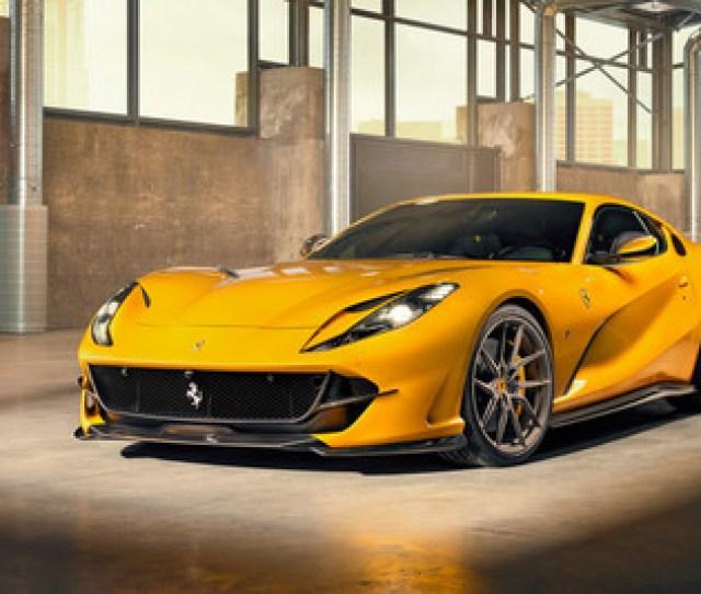 Novitec Viste De Carbono El Ferrari 812 Superfast Y Las Mejoras Para El 6 5 Litros V12 Estan En Camino