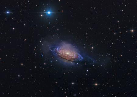 Ngc 3521 Mysterious Galaxy C Steven Mohr