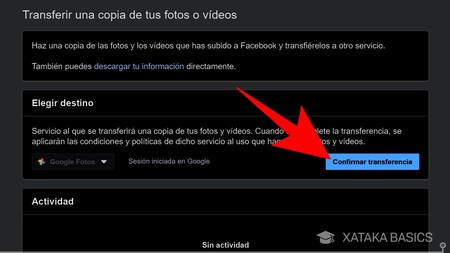 How to export your Facebook photos and videos to Google Photos from the social network