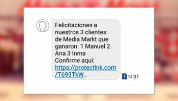 """""""¡Tienes un paquete regalo pendiente!"""": la red de phishing que ha inundado los móviles de media España"""