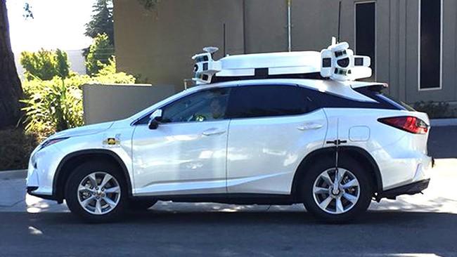 Permalink to El coche autonomo de Apple tiene su primer accidente… pero por culpa de un humano