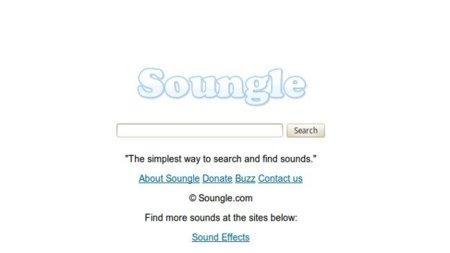 Soungle, un buscador de efectos de sonido libres de derechos