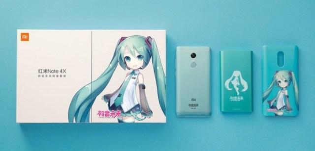 Xiaomi Redmi Note 4x Hatsume