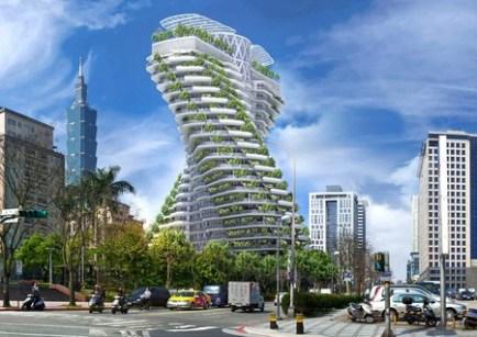 """En Taiwán están construyendo un edificio que se """"come"""" la contaminación y quieren tenerlo listo para 2019"""
