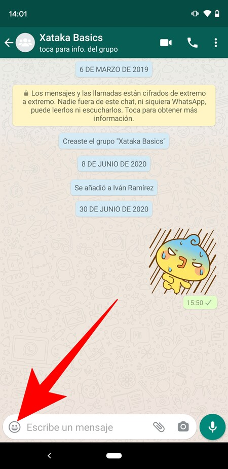 How to test the new WhatsApp sticker search engine