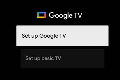 Google TV en televisores tendrá un modo básico que hace «tonta» a la Smart TV