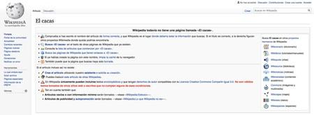 El Cacas Wikipedia