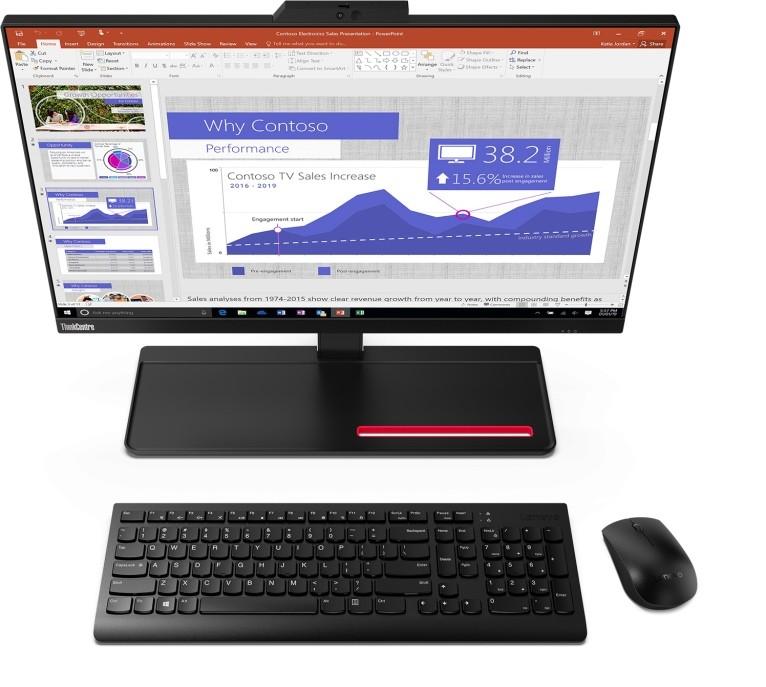 Teclados inalámbricos con trackPoint y AiO que emborrona la pantalla cuando no miramos: las novedades más curiosas de Lenovo en CES 2020
