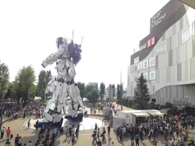 Unicorn Gundam Japon 7