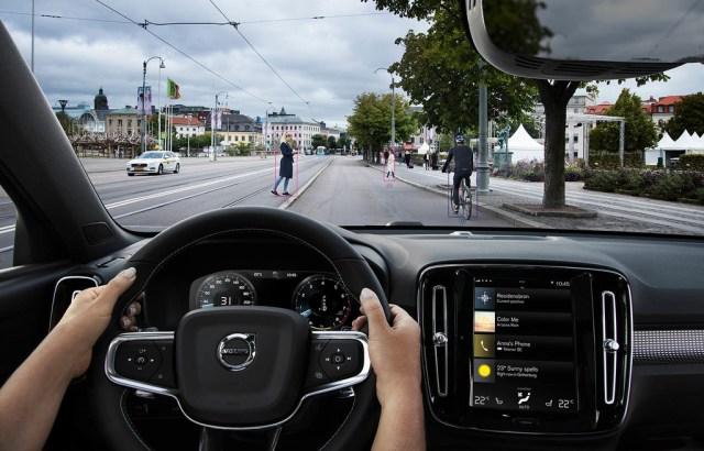 Volvo XC40 seguridad