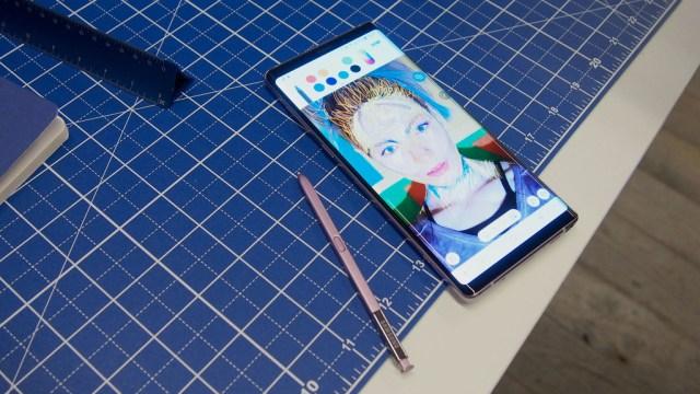 El Samsung℗ Galaxy℗ Note 9 y sus 6,4 pulgadas de pantalla