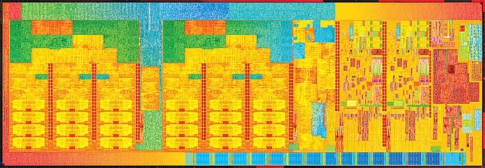 Intel Core Broadwell Die