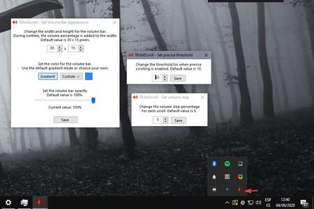 Volumen Windows 10