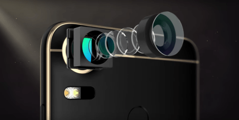 Cámara del HTC Desire 10 Pro