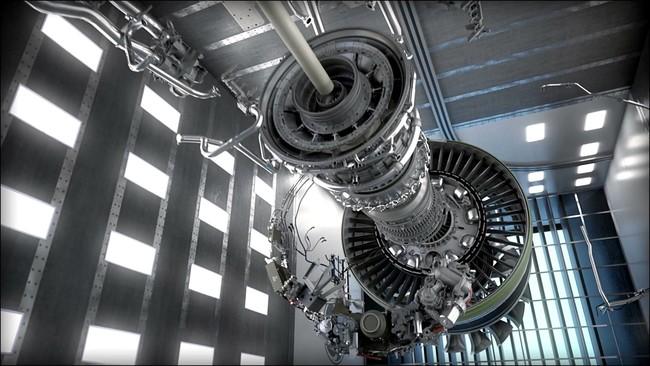 Permalink to Este nuevo motor es tan grande que tiene el tamaño del fuselaje de un avión