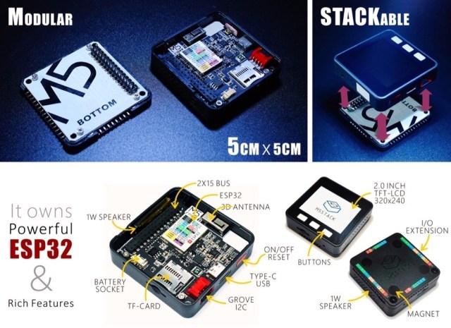 Algunos entresijos e información del M5Stack