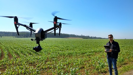 Dron Agricultura