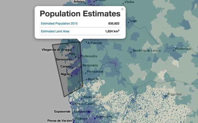 Window Y Sedac S Population Estimation Tools