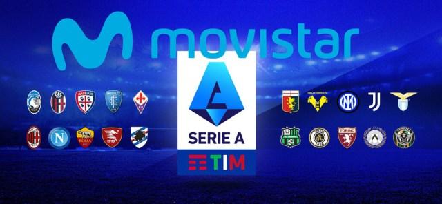 Movistar se queda con la Serie A del fútbol italiano durante las próximas tres temporadas