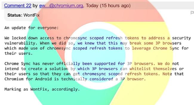 Chromesync