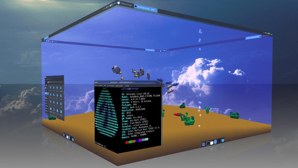 Libanimation, el proyecto que quiere levantar de las cenizas los famosos efectos Compiz de Linux