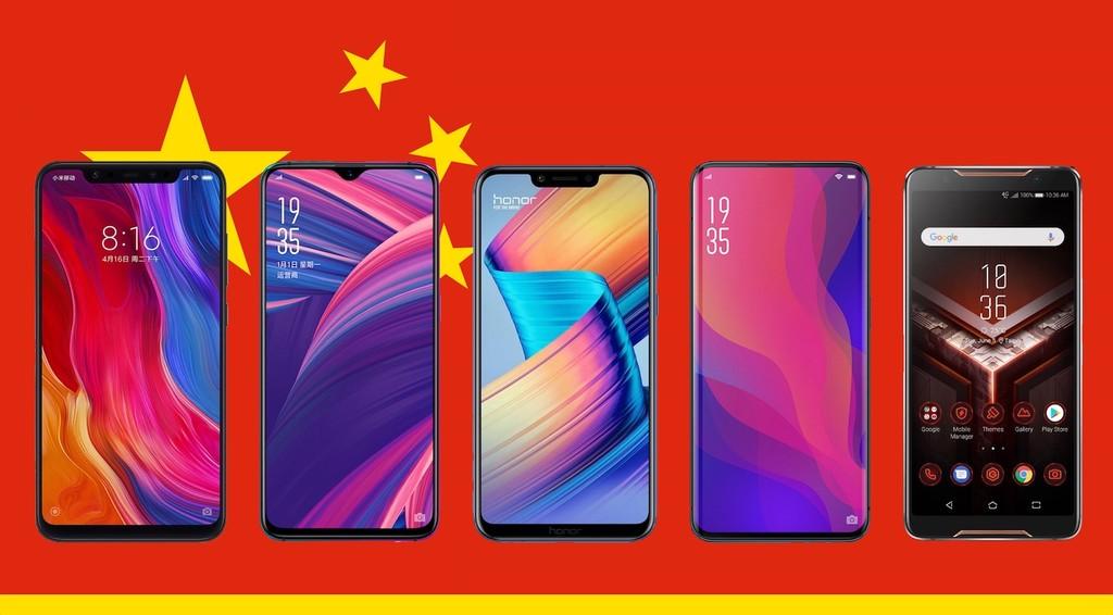 Los mejores moviles chinos de 2018