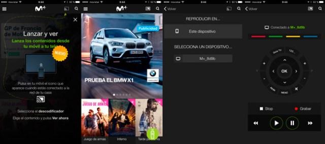 Movistar+ actualiza su aplicación móvil, actualmente también hace de poder del descodificador