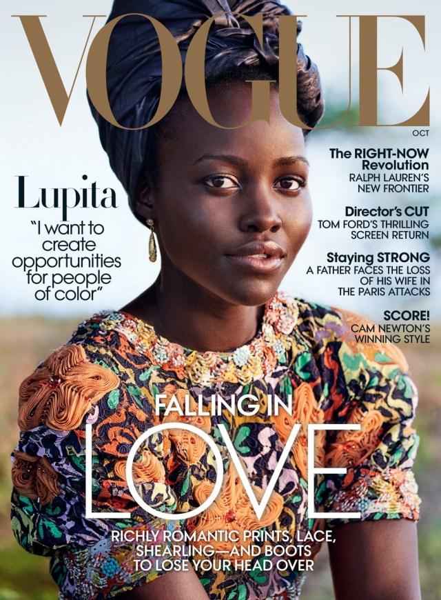 Vogue USA: 2016 Lupita Nyong'o