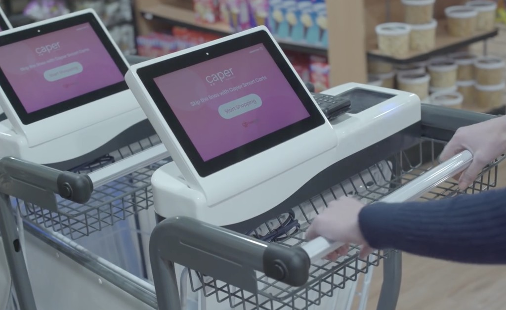 Este carrito de la compra reconoce qué productos depositas para ahorrarte pasar por caja y recomendarte recetas
