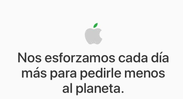 Apple dia de la tierra
