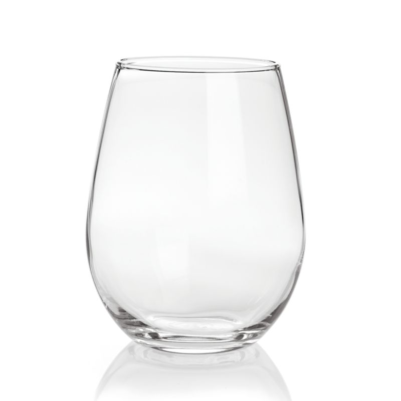 Stemless White Wine Glass Crate And Barrel