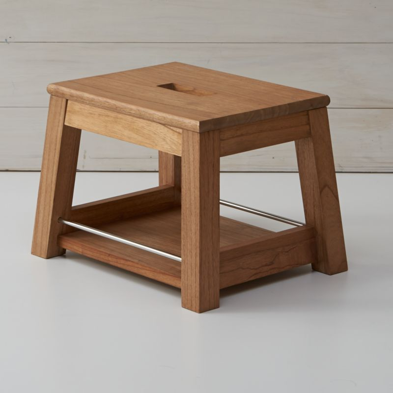 Wooden Step Stool Crate And Barrel