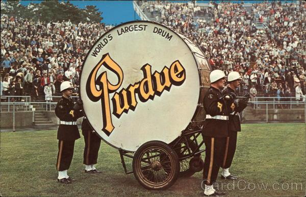 Worlds Largest Drum Purdue University West Lafayette IN