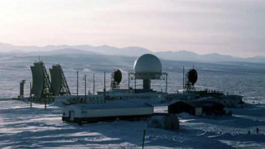 he DEW Line and bases in Iqaluit