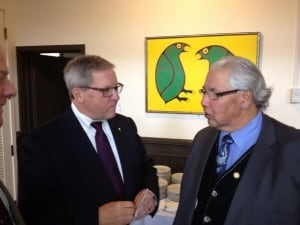 Lloyd Axworthy and Murray Sinclair