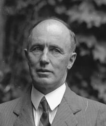Former prime minister Arthur Meighen