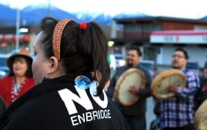 Enbridge Northern Gateway - Haisla Kitimat protest